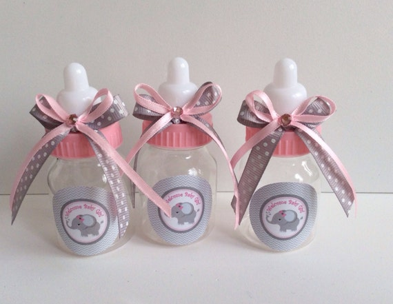 12 Small 35 Baby Elephant Girl Baby Shower Favors