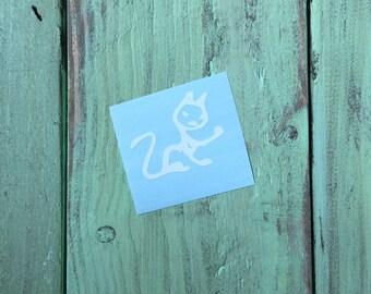 Cat - Zombie Family Vinyl Decal Sticker