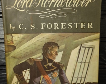 vintage book Lord Hornblower historical fiction