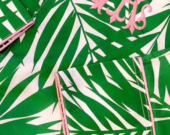 Preppy Palm Monogram Nightshirt Size SMALL/MEDIUM