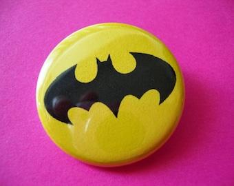 Batman Pinback or Magnet