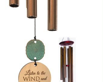 Memorial Wind Chime Gift After Loss Wind Chime Loved One In Memory of family member Copper