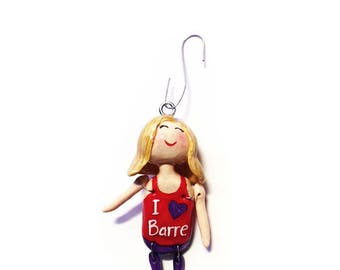 I Love Barre Collection:  Lilith (Ornament)  - CAN BE PERSONALIZED w/ Add-On Option