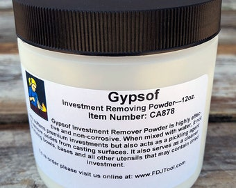 Gypsof Investment Remover 12oz (CA878) **CLOSEOUT**