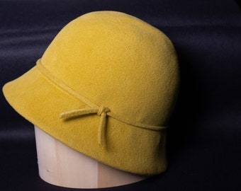 The Simple Cloche long brim(wired)
