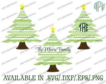 Digital Cut File, Aztec Christmas Tree, SVG, DXF, EPS, Monogram, Split, Tribal, Vinyl, Santa, Vector, Silhouette, Cricut, Holiday, Winter