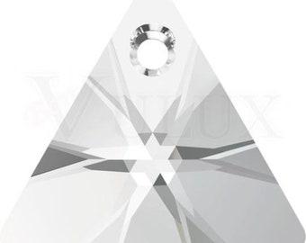 Swarovski XILION Triangle 6628  12 MM Crystal