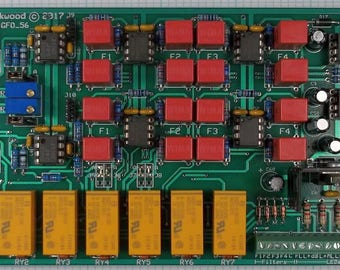 """Mastering Transfer Console Input, Gain, Filter, Output Module """"MTC-IGFO."""" Assembled and Tested."""