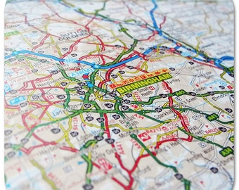 Birmingham Map Coasters