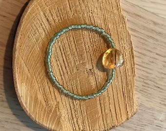 Handmade Citrine bracelet