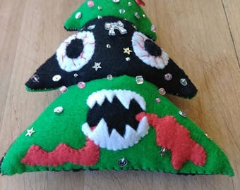 Holiday Stress: Rabid Christmas Tree Plushie