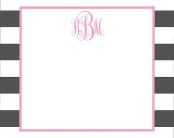 Monogrammed Mailing Labels - Sorority Stickers