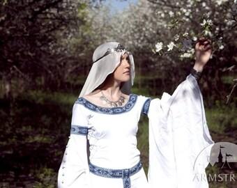 """IN Stock! Ready to Ship! Wedding Veil; Silk Veil; White Veil """"white Swan"""""""