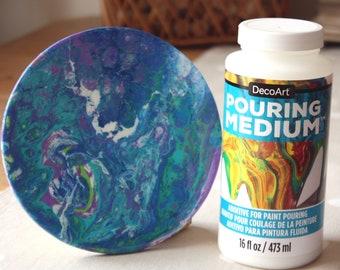 DecoArt Pouring Medium 16 oz.,Pouring Medium,Pour Medium,Deco Art Pouring Medium 16 oz. Jar