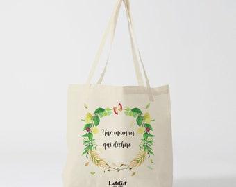 W139Y tote bag Mama tearing, custom tote bag, tote bag, wedding bag, mothers day, shopping bag, cotton bag, mother's day