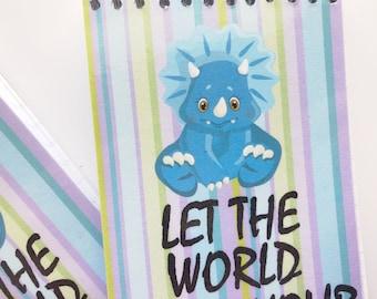 Let the World Hear Your Roar Mini Notebook
