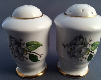 Royal Stafford Camellia Porcelain Salt and Pepper