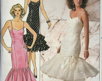 Butterick 4828 Misses Form Fitting Prom or Special Occasion Dress Pattern, 6-10, UNCUT
