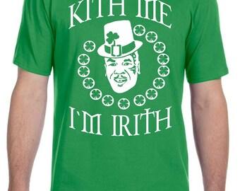 Mike Tyson St. Patrick's Day Kith Me I'm Irith Shirt