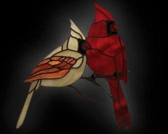 Finest Cardinal suncatcher   Etsy NH96