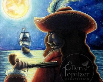 Captain Hook - Medium Print