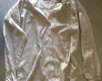 Women's Button Up Blouse Size 14