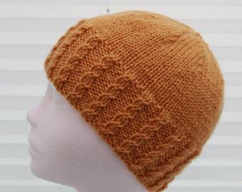 Instant download knitted ladies  beanie knitting pattern, Beanie, Cap KP389