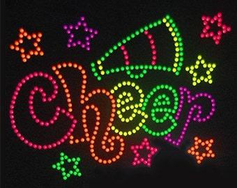 Adult Cheer neon rhinestud tee a10989d