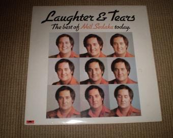 Laughter & Tears Vinyl LP Album Neil Sedaka,The Best of 1970's Neil Sedaka,Near Mint Condition