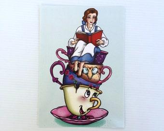 Teacup Belle Postcard