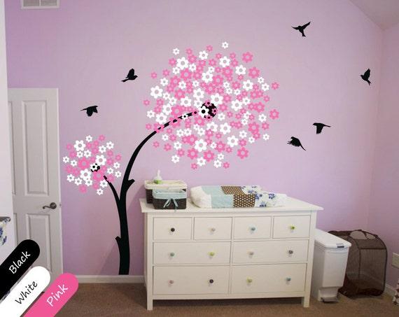 Moderne Baby Kinderzimmer Wandtattoo Baum Wall Decal mit