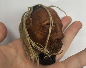 Tribal Shrunken Head