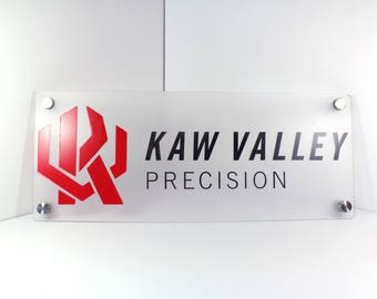 Acrylic Business Sign