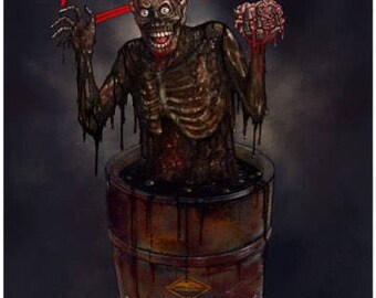 Return Of The Living Dead (Tar-Man) - A3 Print