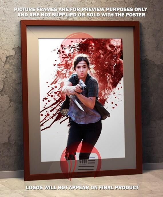 Tara The Walking Dead A3 Poster
