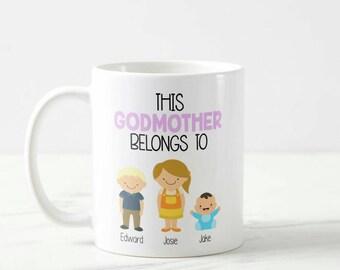 This Godmother Belongs to Mug