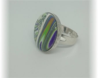 Spirit of spring - Ring adjustable 19 mm