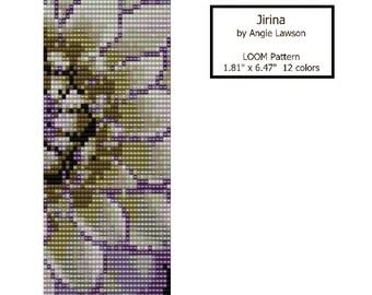 Jirina - LOOM Stitch Pattern Download
