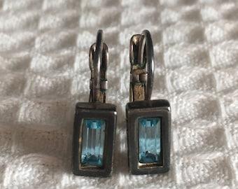 Vintage pair of Dyrberg/Kern earrings