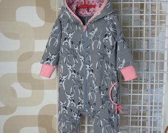 Sweet Baby Jumpsuit Size 68/handmade/Happy Fleece