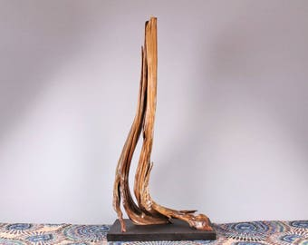 Wood Sculpture, Forest Sculpture , Driftwood Sculpture : Aspiration 18012