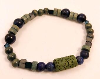 Lava Stone Essential Oil Bracelet