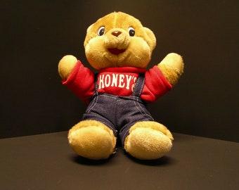 Shoney's Stuffed Teddy Bear (1985)