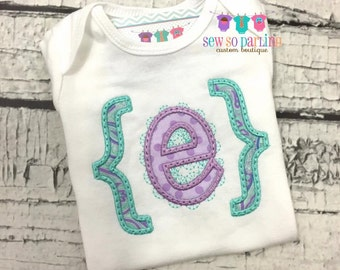 Baby girl personalized shirt - Baby girl outfit - Monogram baby girl shirt - Personalized baby clothes