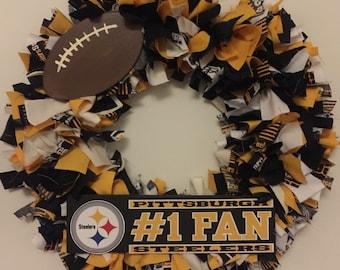 Pittsburg Steelers Wreath