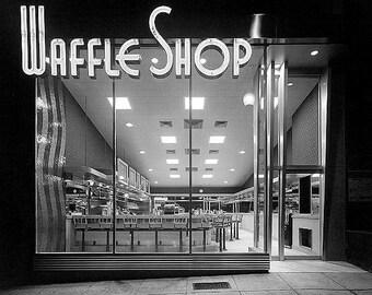 Waffle Shop 1950s Photo