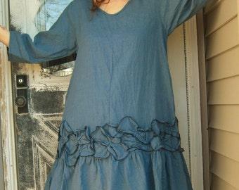 Petal Tunic Dress