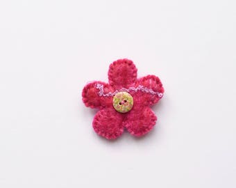 Felt flower brooch, Felt flower, Brooch, Felted flower, Felted flower brooch, Birthday gift, Mother's Day, Easter present, Anniversary gift
