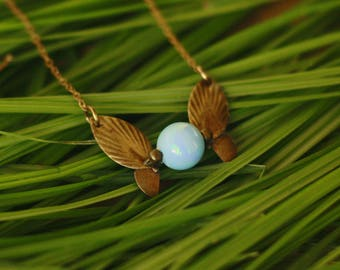 Navi Necklace -Legend of Zelda -  Zelda Fairy