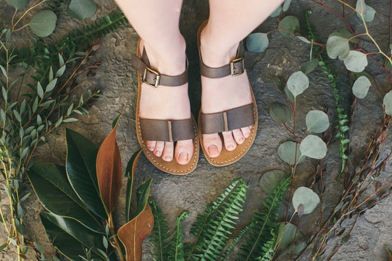 Sandals Strappy Sandals Leather Vintage Sandals Shoes Ankle Summer Brown Sandals Summer Brown Women Sandals Brown Sandals Tq7dP7nZx